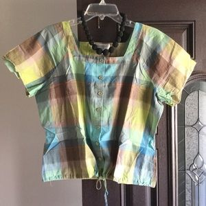 Plaid blouse 5 for $25